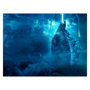 Godzilla. Размер: 120 х 90 см